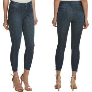 Splendid Skinny Jeans Denim Dark Wash Zippered Leg
